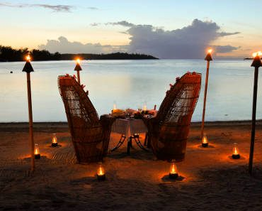 ROMANTIC DINNER BORA BORA RESORT