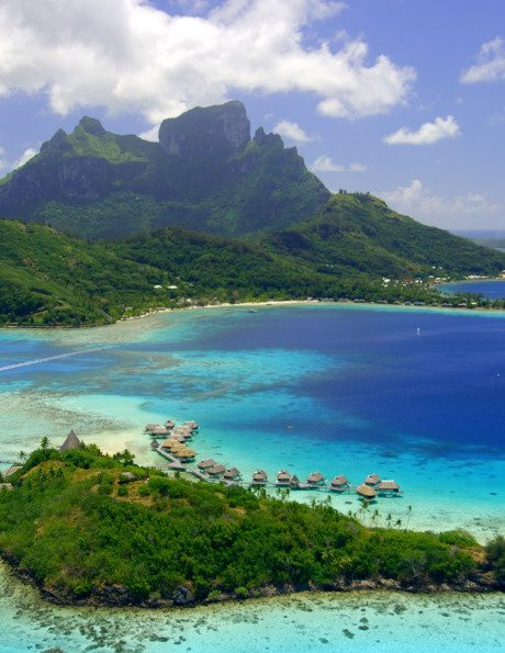 romance vacation in bora bora