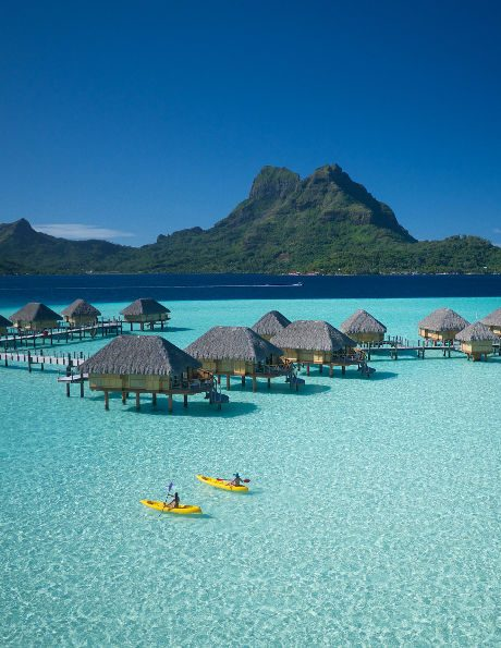 vacation in bora bora