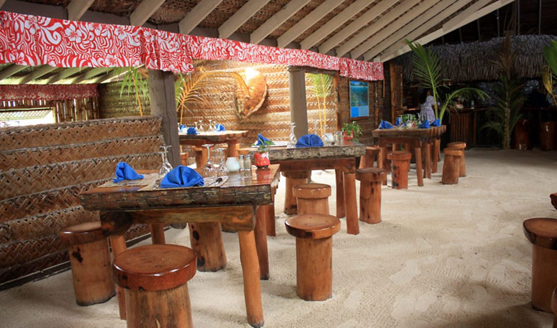dinner at bloody marys famous restaurant in bora bora for your vacation