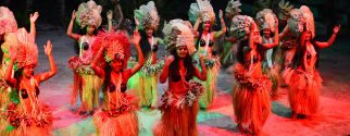tahitian dinner and dance show on moorea island