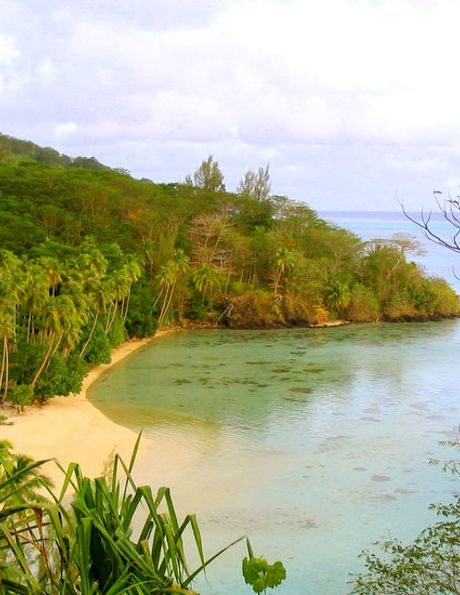 honeymoon vacation in huahine