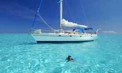 sailing tour of huahine island