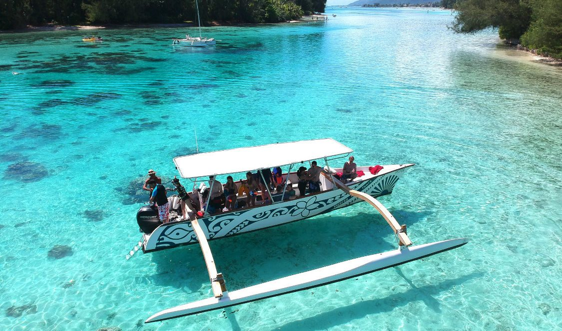 best lagoon tour in Moorea French Polynesia for your next vacation