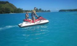 jet ski tour on moorea island