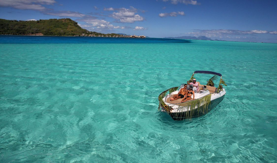 private cruise over bora bora lagoon during your vacation