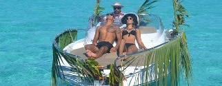 Unique Private full fay tour, THE romantic tour on Bora Bora