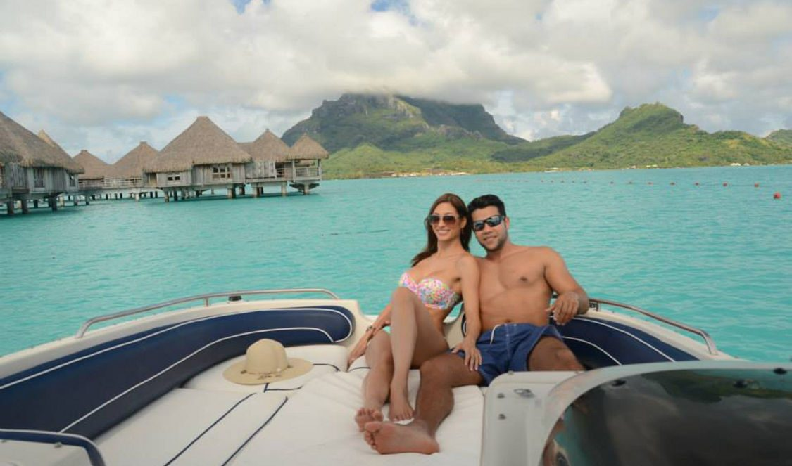 private lover cruise in bora bora during your vacation
