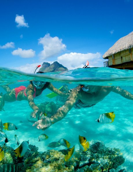 romance vacation in french polynesia