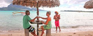 romantic lagoon tour on bora bora island